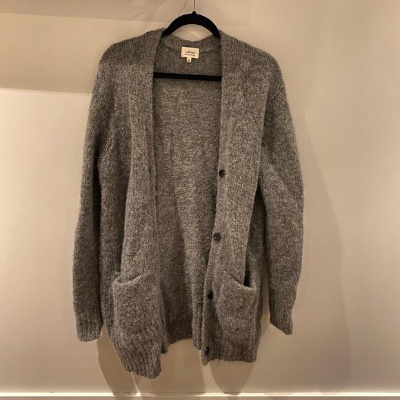 Wilfred Oversized Cardigan Grey - Medium